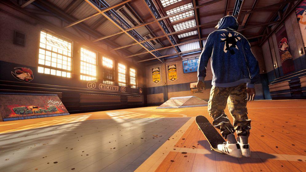 Skate-Legende Kareem Campbell ist einer der spielbaren Helden - Bildquelle: Activision