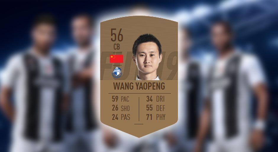 Schlechtester Passwert: Yaopeng Wang - Bildquelle: EA Sports