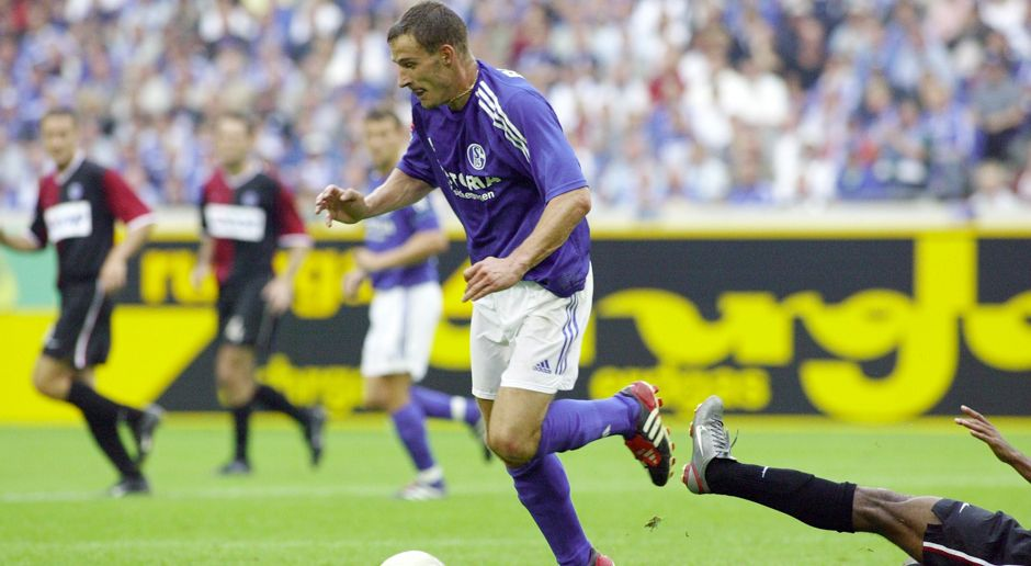 Linkes Mittelfeld: Jörg Böhme (FC Schalke 04) - Bildquelle: Getty