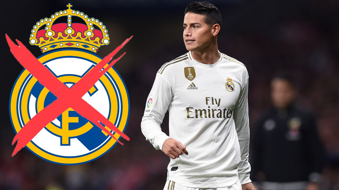 James Rodriguez (Real Madrid) - Bildquelle: 2019 Getty Images
