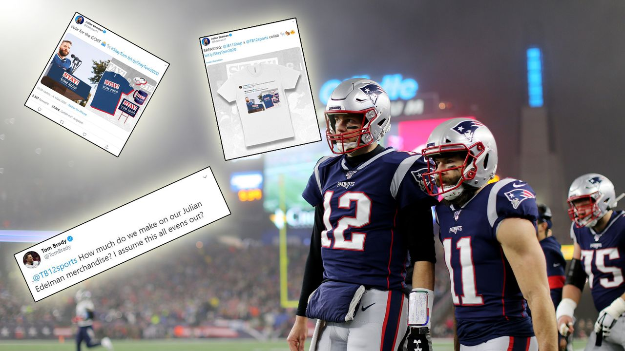 "Julian Edelman startet Brady-Kampagne: ""STAY! TOM 2020 - A QUARTERBACK YOU CAN TRUST"" - Bildquelle: getty"