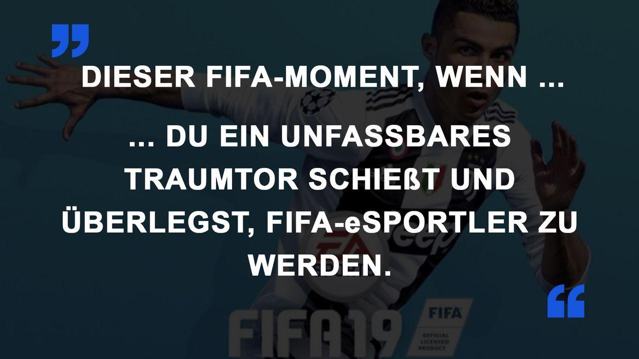 FIFA Momente eSportler