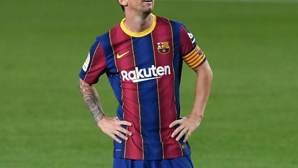 Versöhnliche Töne: Lionel Messi - Bildquelle: AFPSIDJOSEP LAGO
