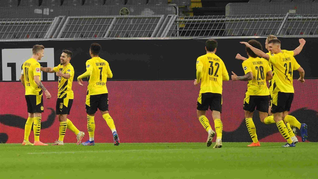 Platz 10: Borussia Dortmund - Durchschnittlicher Tabellenplatz der Gegner: 10,2 - Bildquelle: getty
