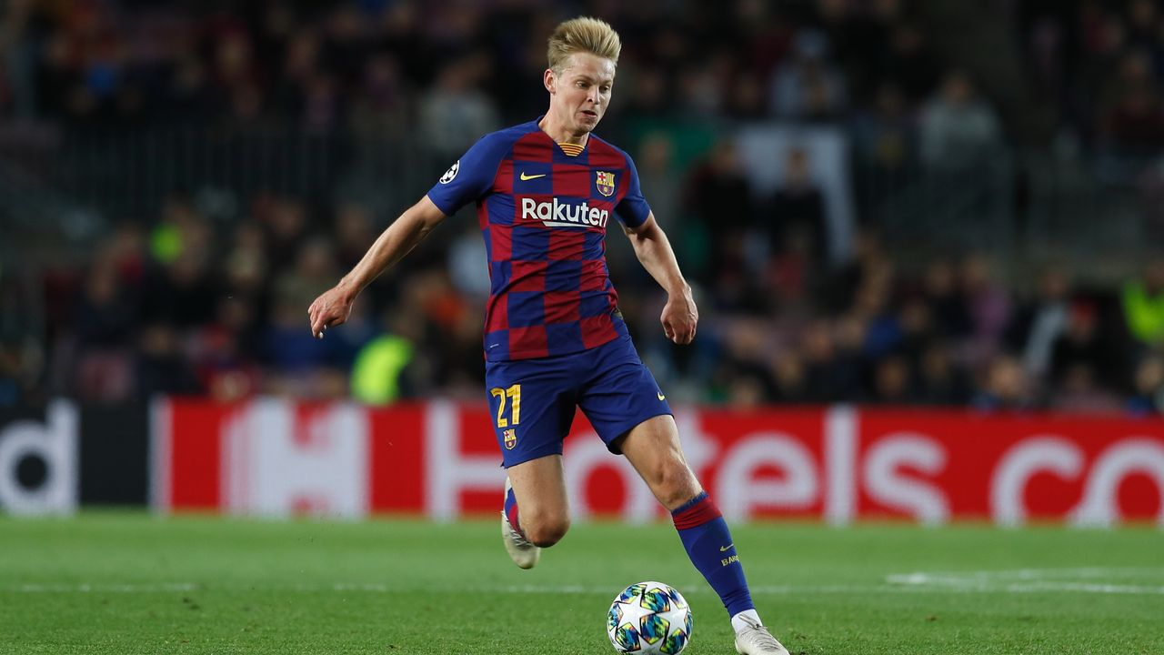 Frenkie de Jong (FC Barcelona) - Bildquelle: imago