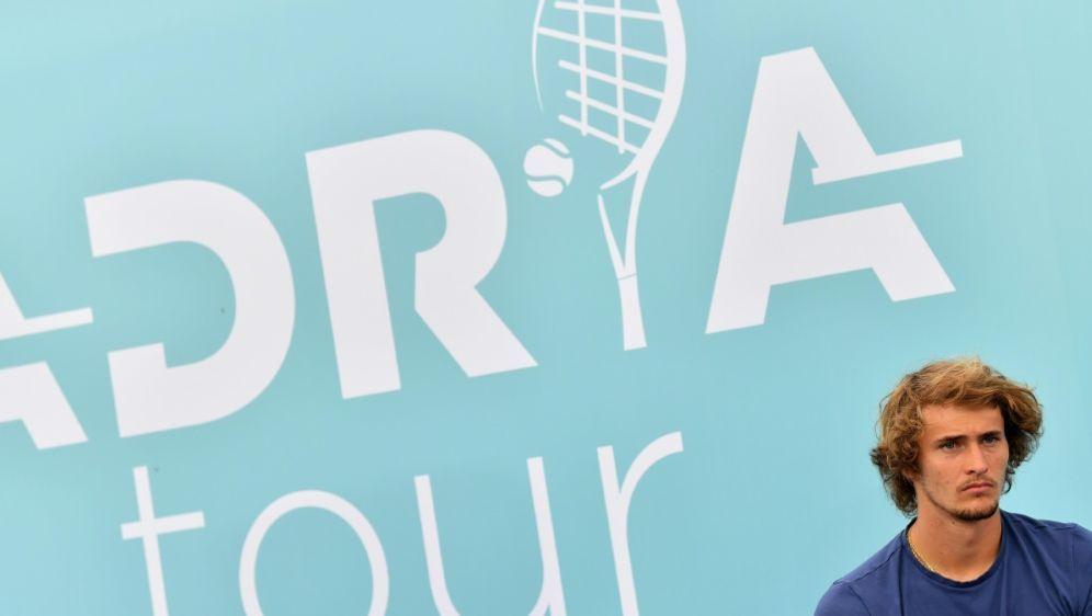 Zverev hatte bei umstrittener Adria-Tour teilgenommen - Bildquelle: AFPSIDANDREJ ISAKOVIC