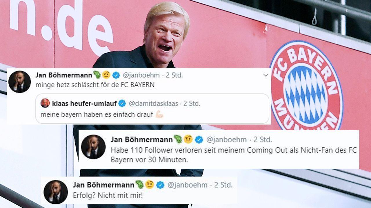 Böhmermann nimmt Klaas mit ins Boot - Bildquelle: Imago/Twitter:Jan Böhmermann