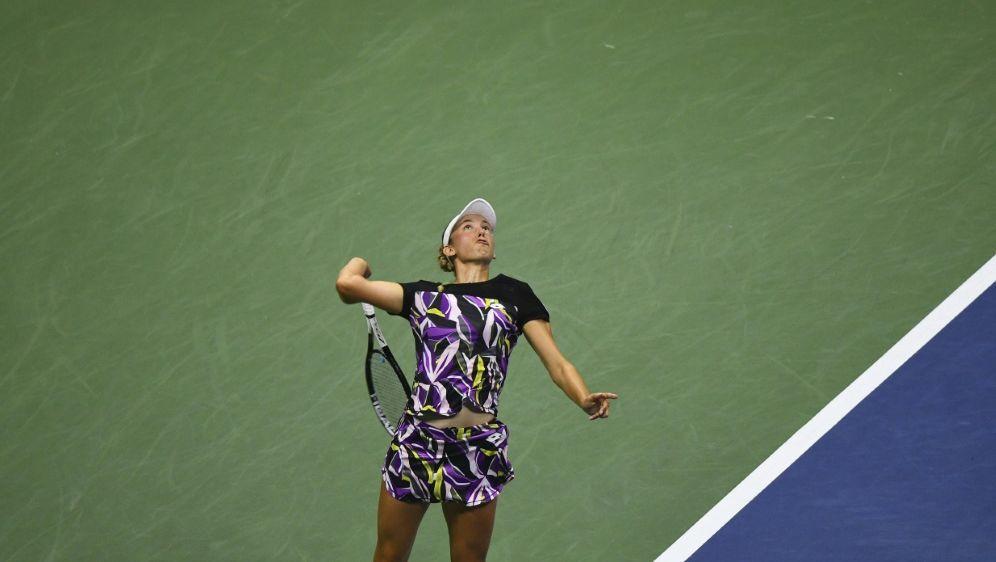 Mertens gewann mit Sabalenka den Titel im Damen-Doppel - Bildquelle: AFPSIDJOHANNES EISELE