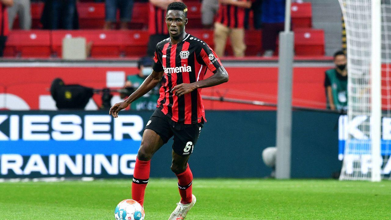 Odilon Kossounou (Bayer Leverkusen) - Bildquelle: imago images/Uwe Kraft