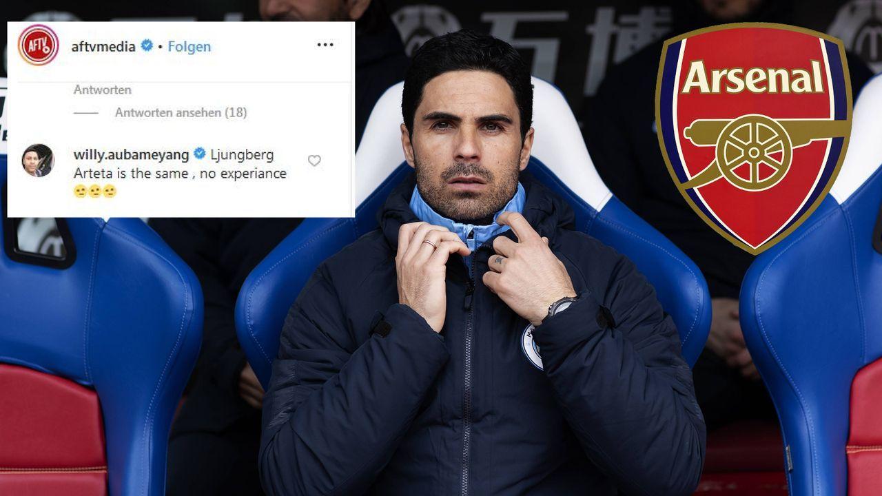 Aubameyang-Bruder kritisiert potentiellen Arsenal-Trainer - Bildquelle: imago images / Action Plus / Screenshot instagram.com/aftvmedia