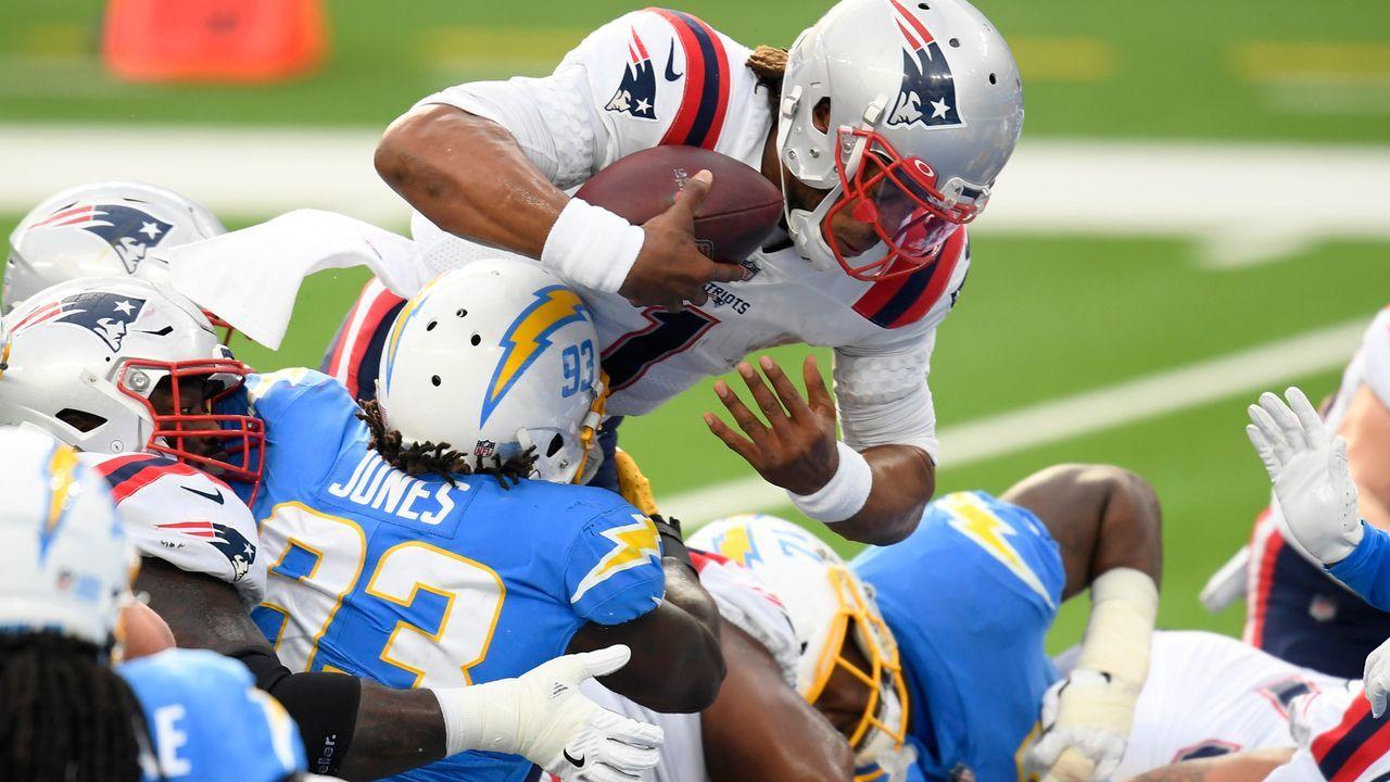 Week 13: Cam Newton mit seinem 10. Spiel mit zwei Rushing Touchdowns - Bildquelle: 2020 Getty Images