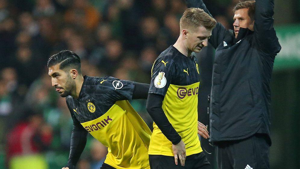 Emre Can (l.) könnte in Wolfsburg sein Comeback feiern - Bildquelle: firo Sportphotofiro SportphotoSIDfiro SportphotoUEFA via Getty Images