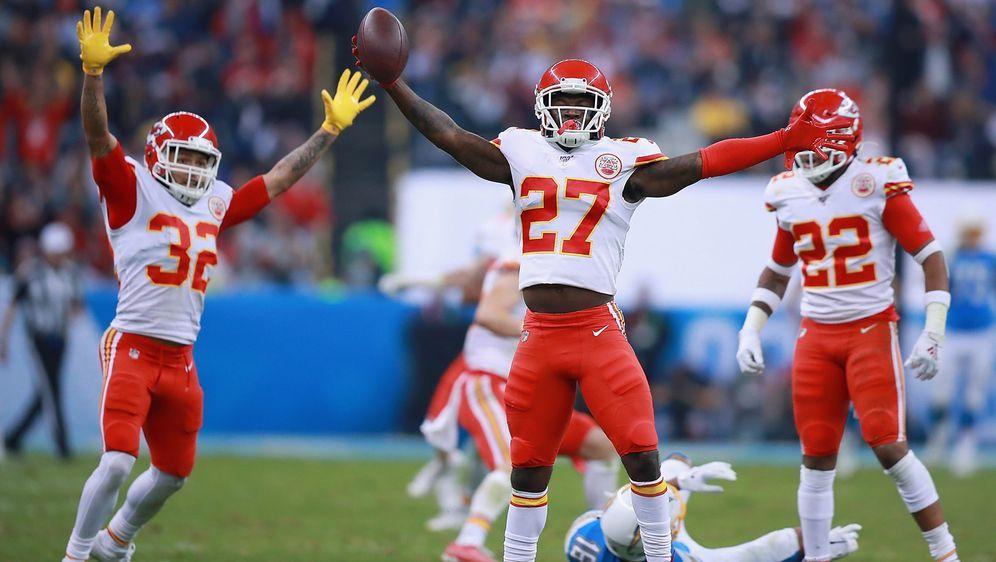 Die Defensive der Chiefs sammelte vier Interceptions - Bildquelle: Getty Images