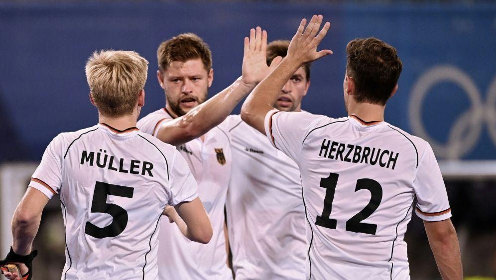 Deutschland besiegt Kanada mit einem 7:1 - Bildquelle: AFPSIDINA FASSBENDER