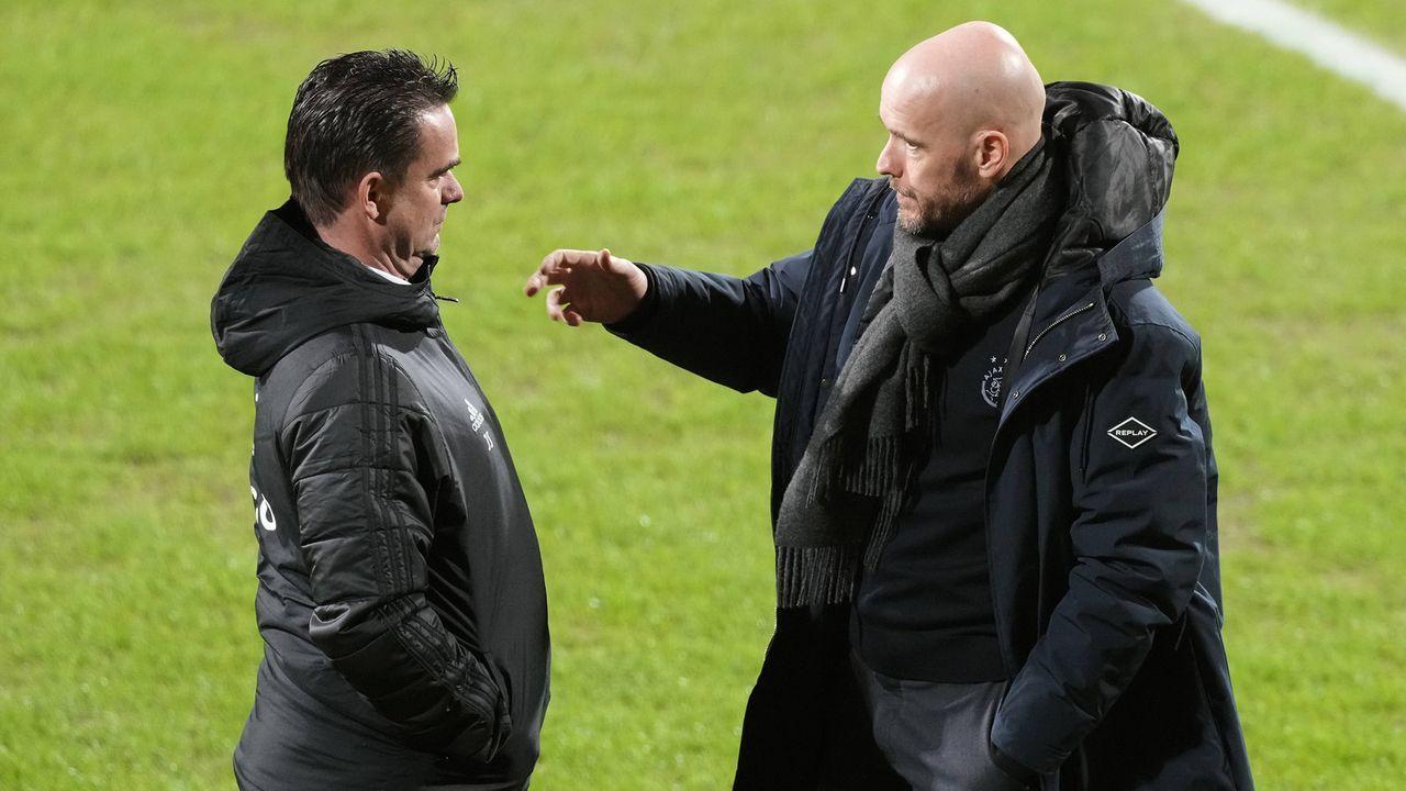 Overmars & ten Hag: Newcastle hat's auf Ajax-Macher abgesehen - Bildquelle: 2021 imago