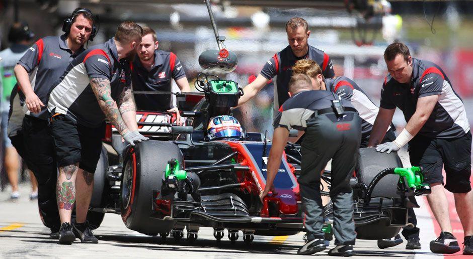 Platz 10: Haas F1 - Bildquelle: imago/LAT Photographic