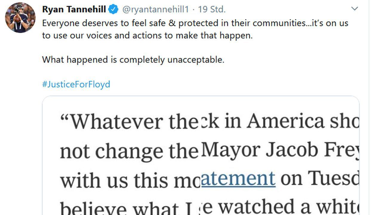 Ryan Tannehill - Bildquelle: twitter.com/ryantannehill