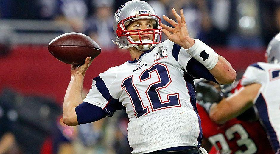 3. neuer Rekord: Meiste Pässe in einem Super Bowl - Bildquelle: 2017 Getty Images