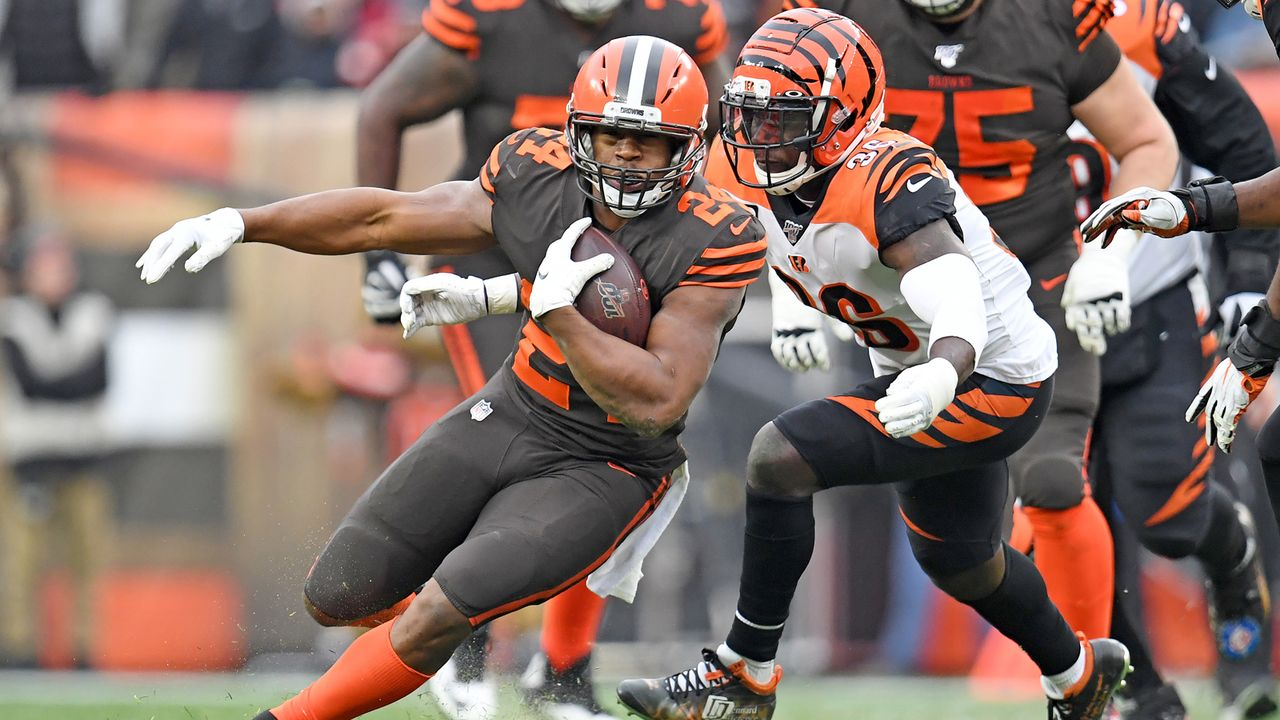 Running Back: Nick Chubb  - Bildquelle: 2019 Getty Images