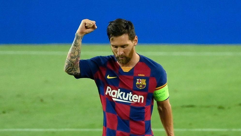 Lieferte eine starke Leistung ab: Top-Star Lionel Messi - Bildquelle: AFPSIDLLUIS GENE