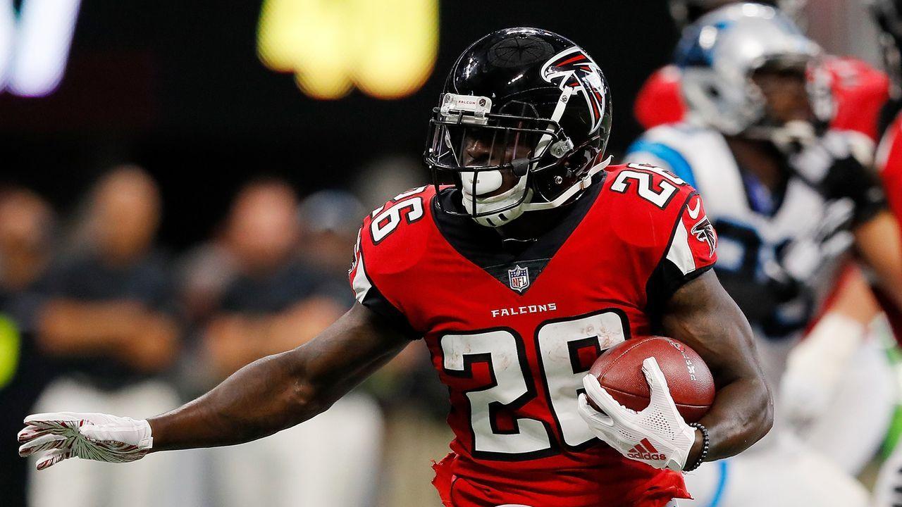 Tevin Coleman (Running Back, Atlanta Falcons) - Bildquelle: 2018 Getty Images