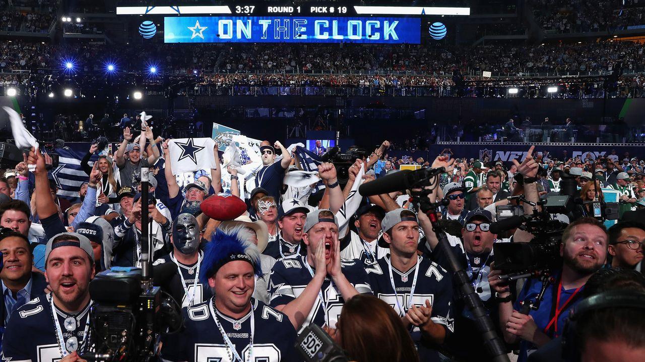 Dallas Cowboys - Bildquelle: 2018 Getty Images