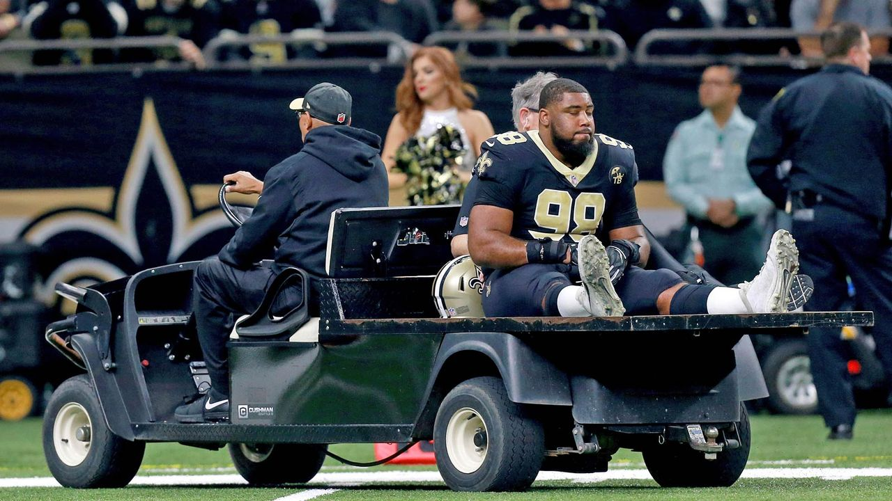 Option gezogen: Sheldon Rankins (New Orleans Saints) - Bildquelle: Getty