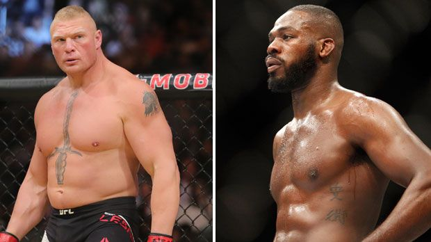Brock Lesnar vs. Jon Jones - Bildquelle: Getty Images/imago