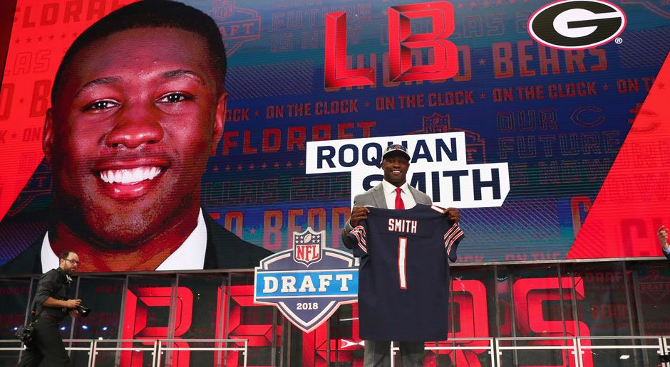 8. Roquan Smith (Outside Linebacker, Chicago Bears)  - Bildquelle: 2018 Getty Images
