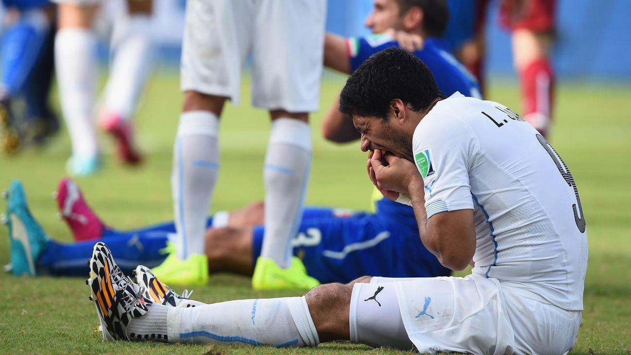 Luis Suarez (Uruguay, neun Spiele Sperre) - Bildquelle: 2014 Getty Images