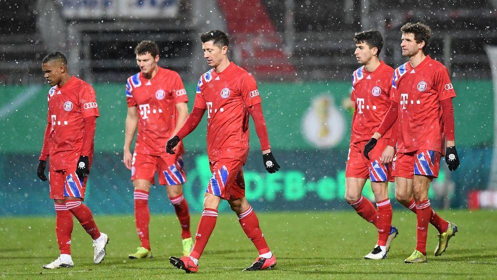 Beim Pokal-Aus in Kiel wurden die Probleme der Bayern deutlich - Bildquelle: 2021 Getty Images