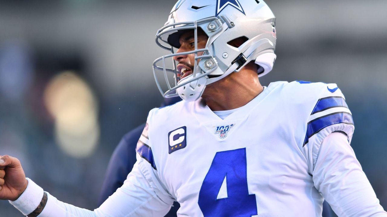 Platz 8: Dak Prescott (Dallas Cowboys) - Bildquelle: imago