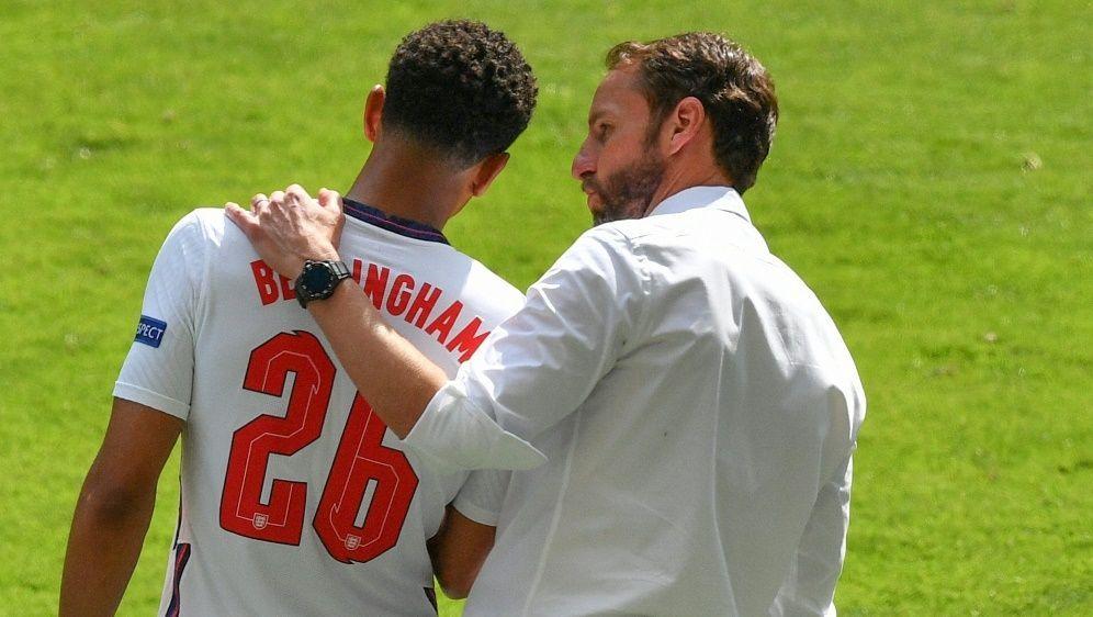 Bellingham ist der jüngste Spieler der EM-Geschichte - Bildquelle: AFPSIDJUSTIN TALLIS