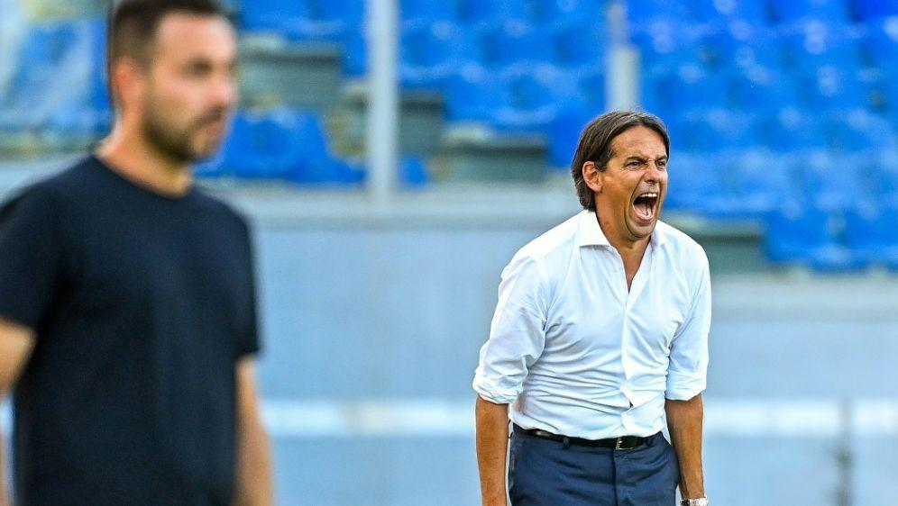 Simone Inzaghi und Lazio Rom verlieren gegen Sassuolo - Bildquelle: AFPSIDVINCENZO PINTO