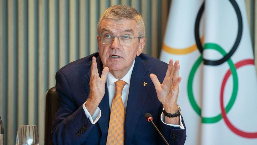 Erhält den Seoul Friedenspreis: IOC-Chef Thomas Bach - Bildquelle: AFPSIDGREG MARTIN