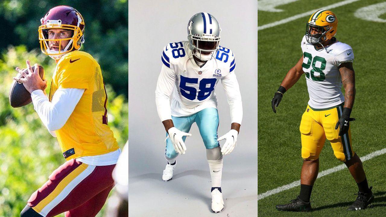 Rookies und Routiniers: Diese Spieler beeindrucken in den Training Camps - Bildquelle: twitter.com/ESPNNFL/twitter.com/jonmachota/2020 Getty Images