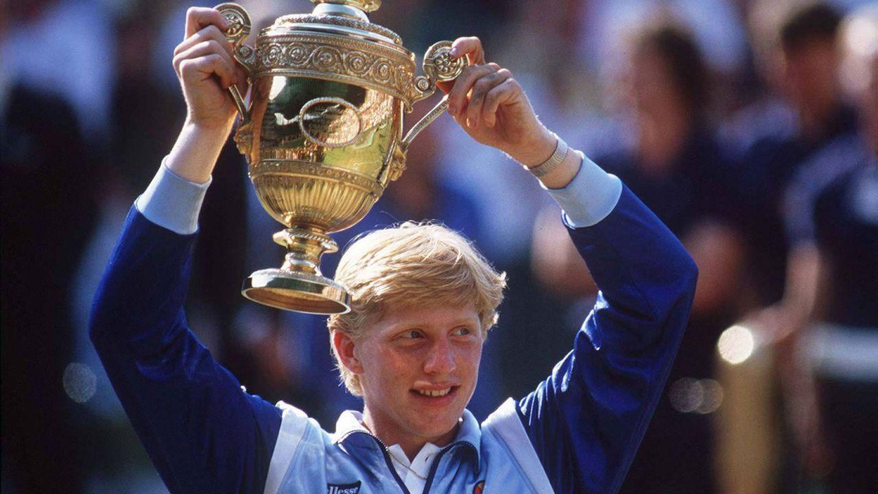 Platz 12: Boris Becker (Deutschland) - Bildquelle: imago