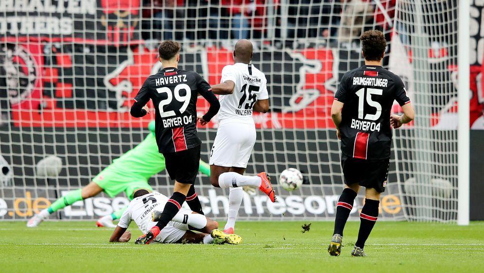 Frankfurt verliert 1:6 in Leverkusen - Bildquelle: getty