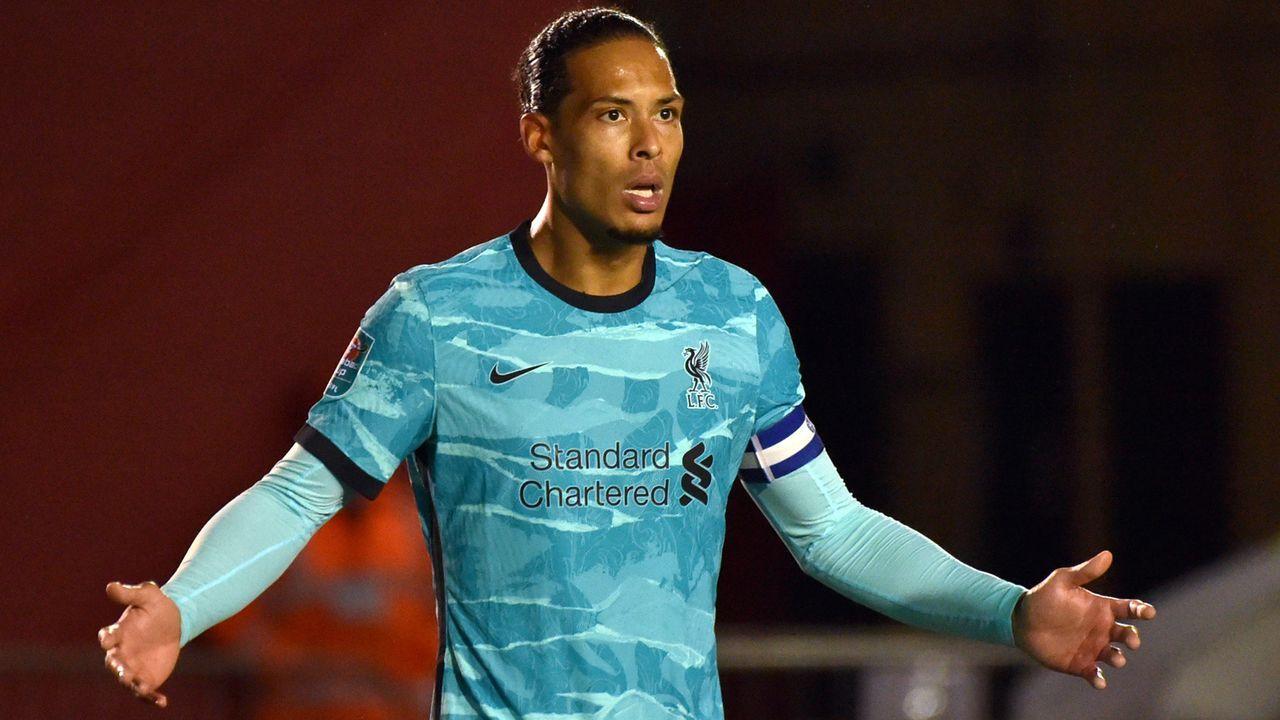 Abwehr: Virgil van Dijk (FC Liverpool) - Bildquelle: 2020 Getty Images