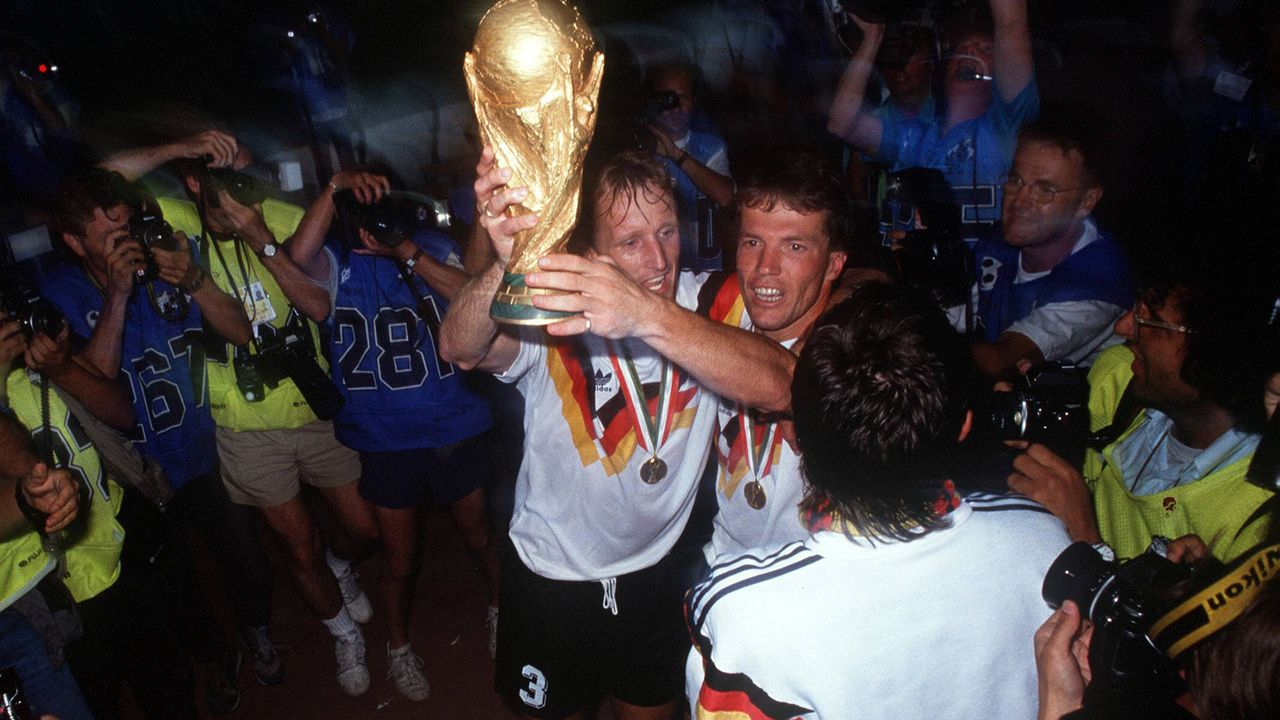 WM-Finale 1990: Argentinien - Deutschland