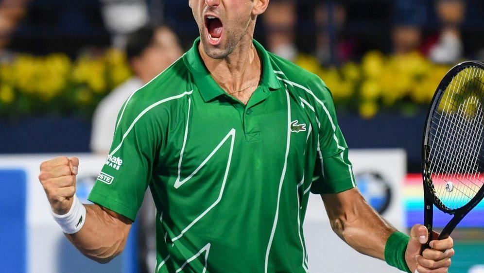 Novak Djokovic ist noch nicht satt - Bildquelle: AFPSIDKARIM SAHIB
