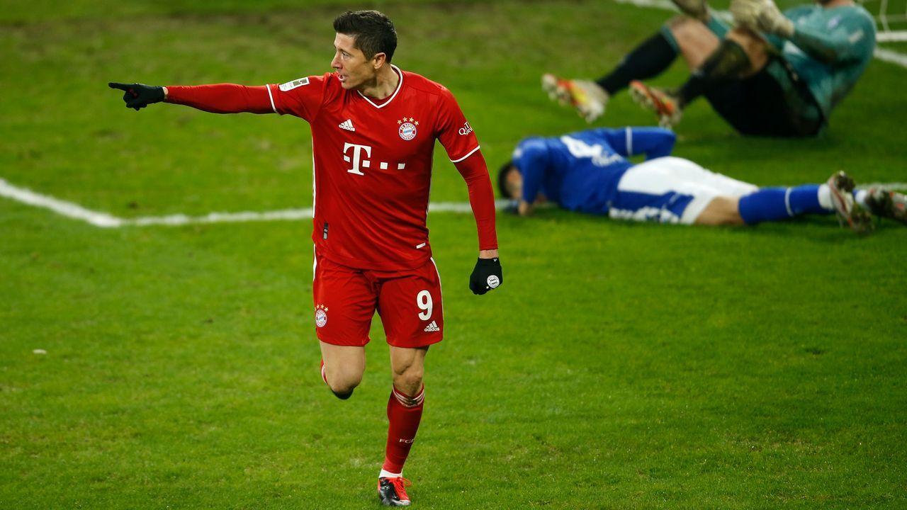 Robert Lewandowski top – RB-Sturm harmlos - Bildquelle: 2021 Getty Images
