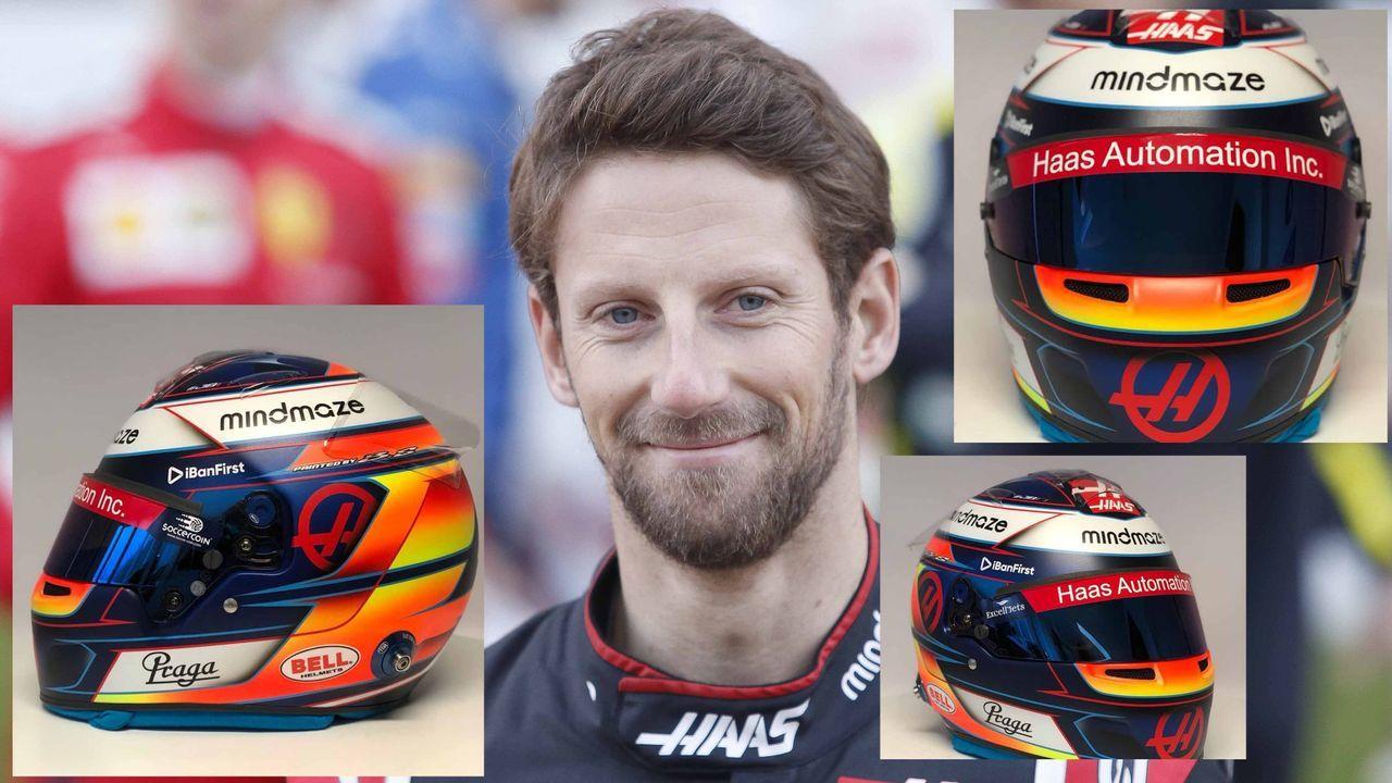 Romain Grosjean (Haas F1 Team) - Bildquelle: imago ; twitter/RGrosjean