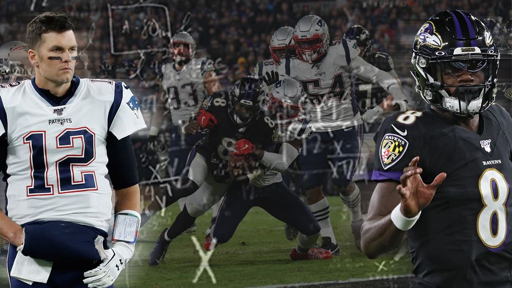 Haben die Ravens den Masterplan entdeckt, um die Patriots zu besiegen? - Bildquelle: Getty Images