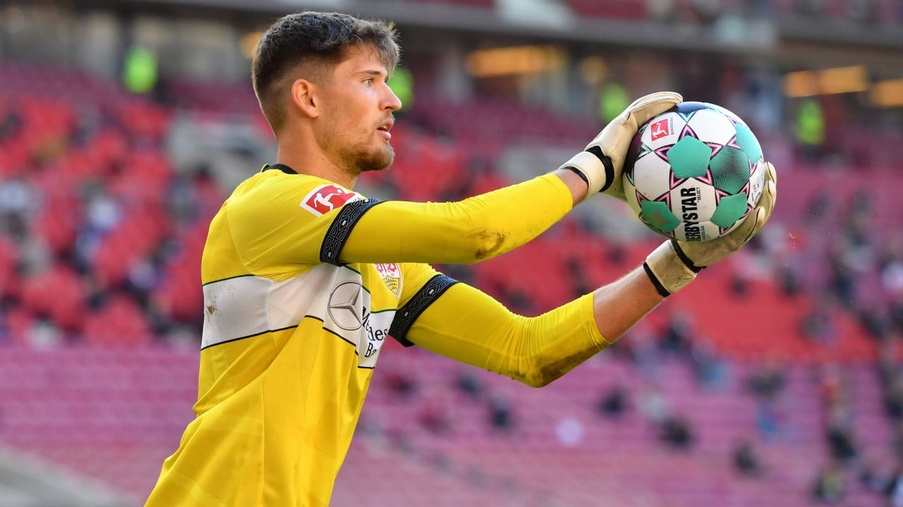Platz 8 (geteilt): Gregor Kobel (VfB Stuttgart) - Bildquelle: Imago