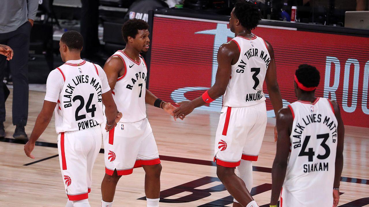 Platz 8 - Toronto Raptors - Bildquelle: Getty Images