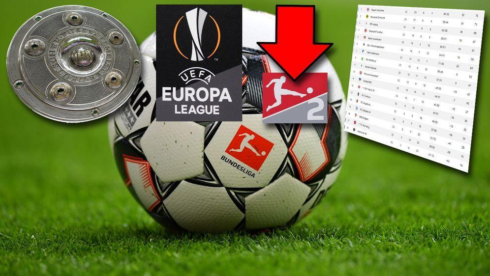 Tag der (Vor-)Entscheidungen: Am Wochenende könnte in der Bundesliga gejubel... - Bildquelle: Getty Images, imago