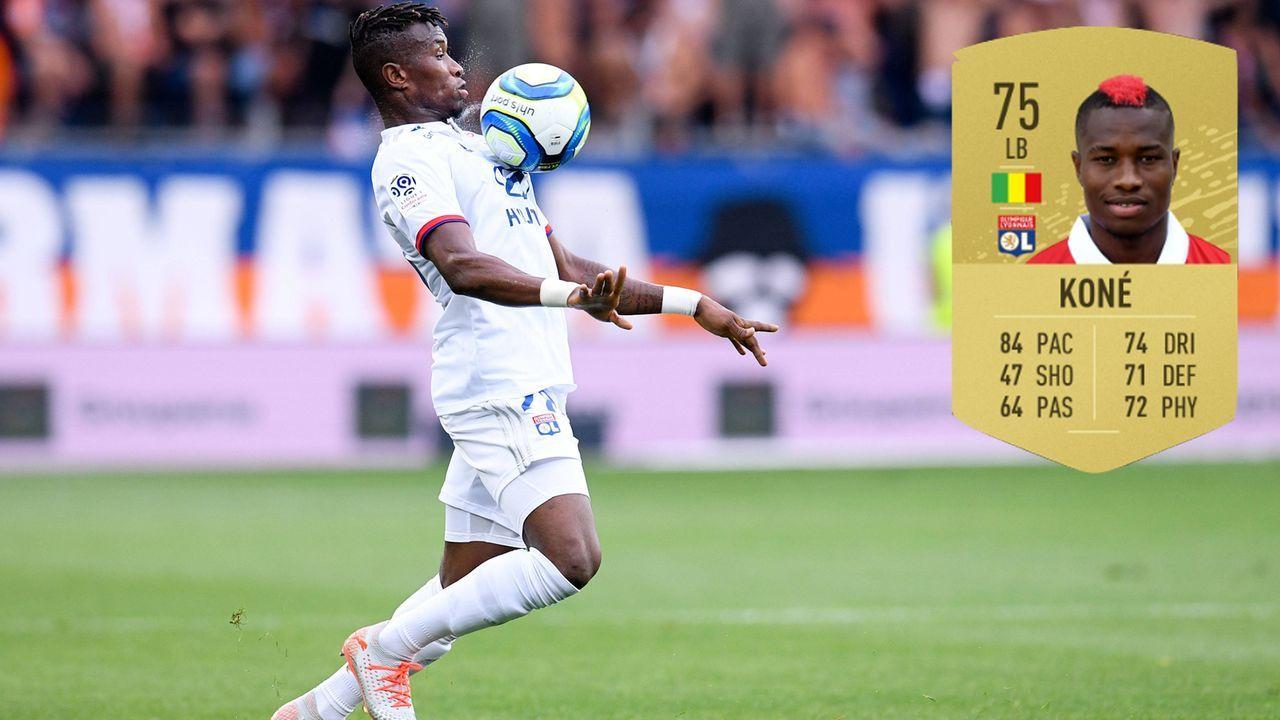 7. Youssouf Kone (Olympique Lyon) - Bildquelle: imago images / PanoramiC