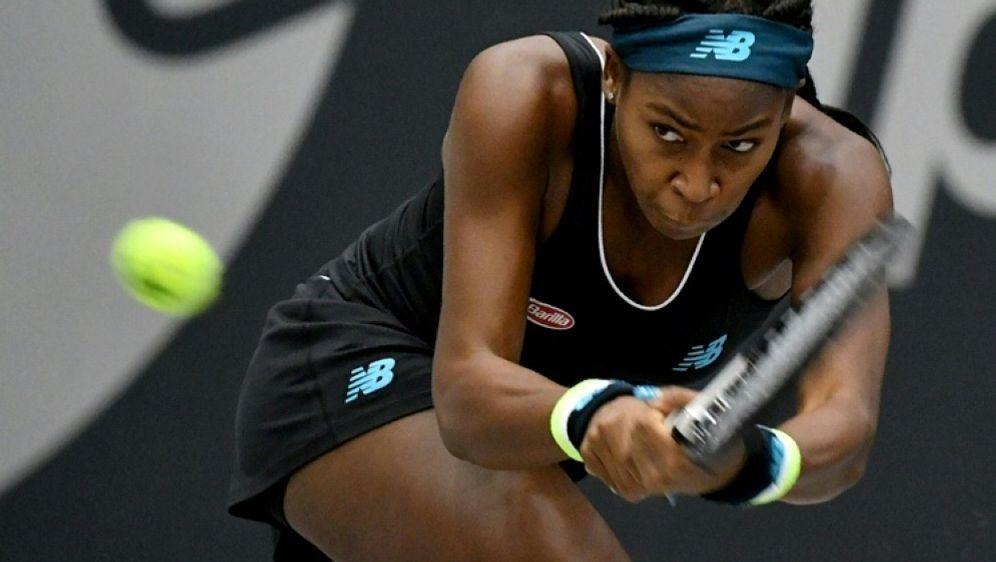 Feierte ihren ersten Turniersieg: Cori Gauff - Bildquelle: AFPSIDBARBARA GINDL