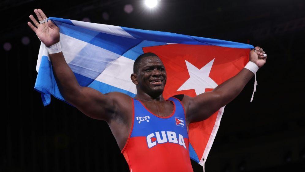 Mijain Lopez Nunez gewinnt seine vierte Goldmedaille - Bildquelle: AFPSIDJack GUEZ
